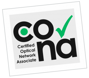 CONA Certified Optical Network Associate course logo