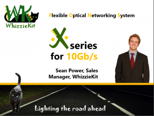 Presentation on WhizzieKit X-series, 10Gb/s optical networking system