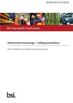BS EN 50174-1