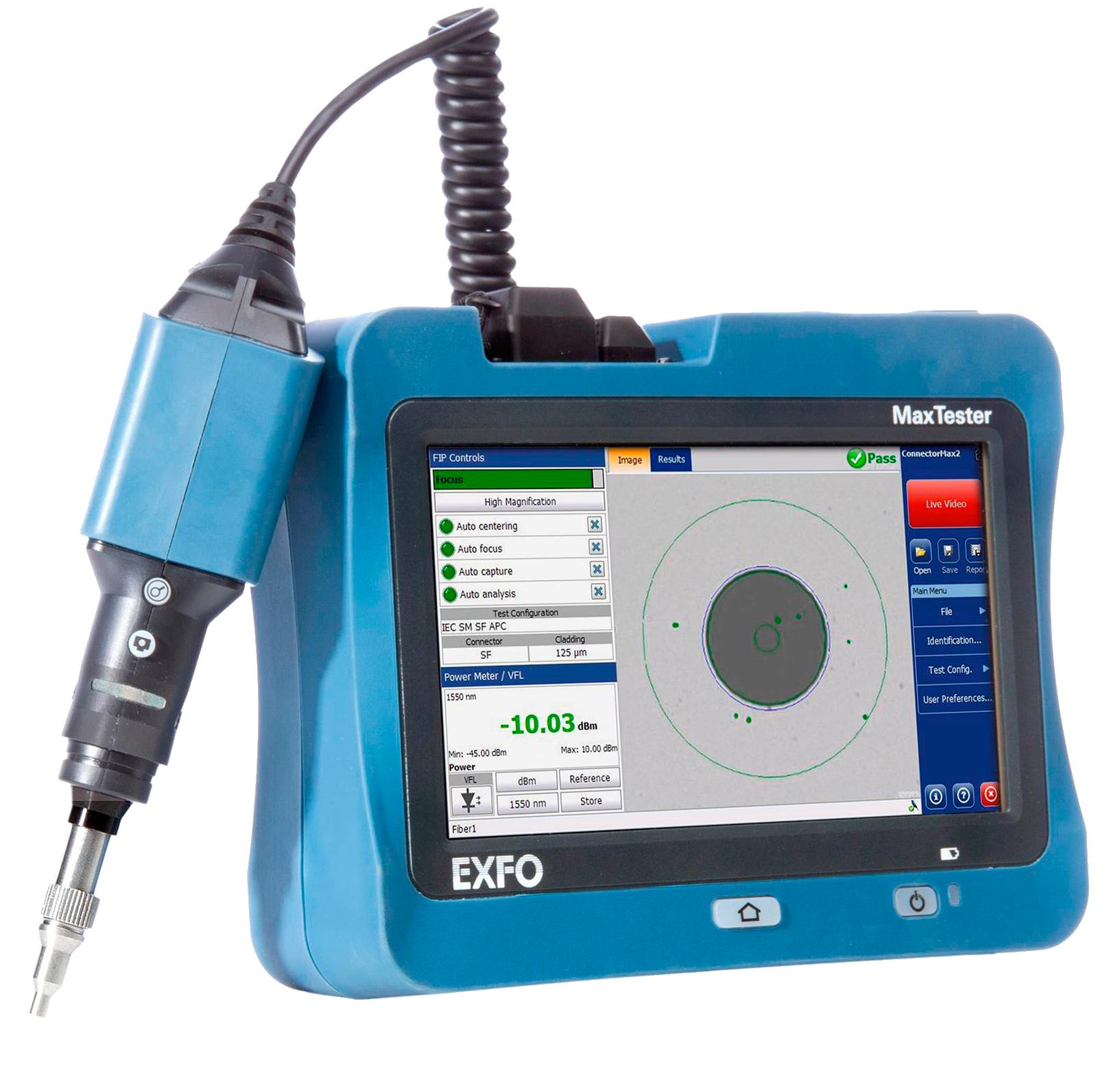 EXFO MAX FIP-400b USB