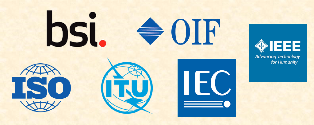 Telecoms standards bodies logos