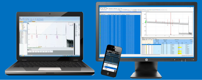 OTDR software for trace processing